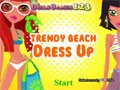 trendige Beach Dress Up Spiel
