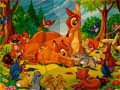 Puzzle Mania Bambi Spiel
