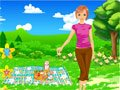 Sommer Picknick dress up Spiel