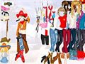 Cowgirl-Dress up Spiel
