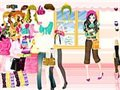 colorful Winter-Dress up Spiel