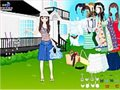 Sommer-Garten-Dress up Spiel